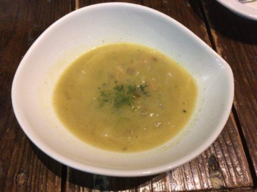平日限定ランチコースのスープ