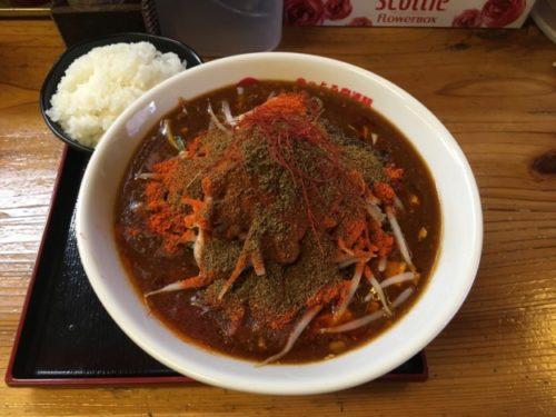 辛っとろ麻婆麺「あかずきん」激辛ラーメンあかずきんの全景