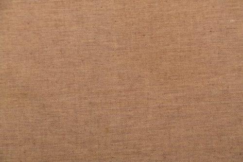 茶色の木綿生地