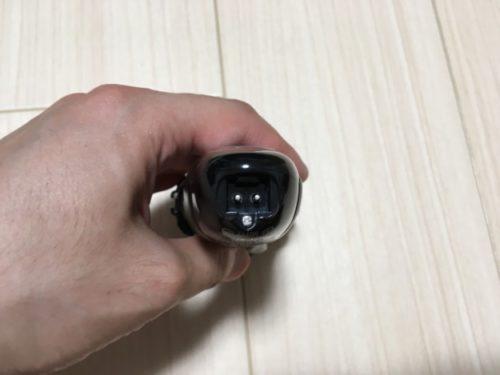 髭剃りラムダッシュ3枚刃の充電器との接続部分