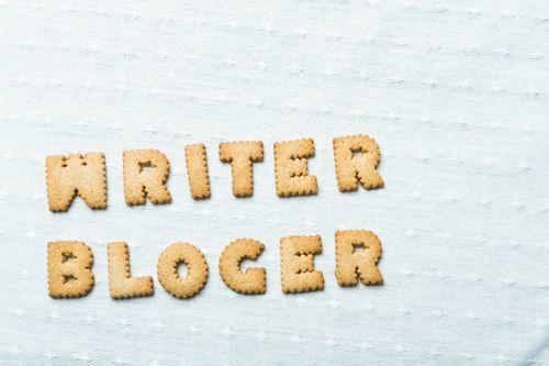 クッキーでライター&ブロガーと表示